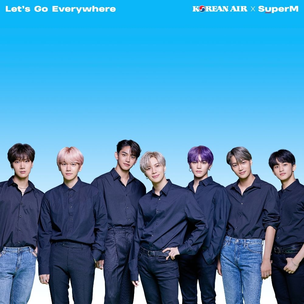 SuperM – Let's Go Everywhere – Korean Air X SuperM – Single
