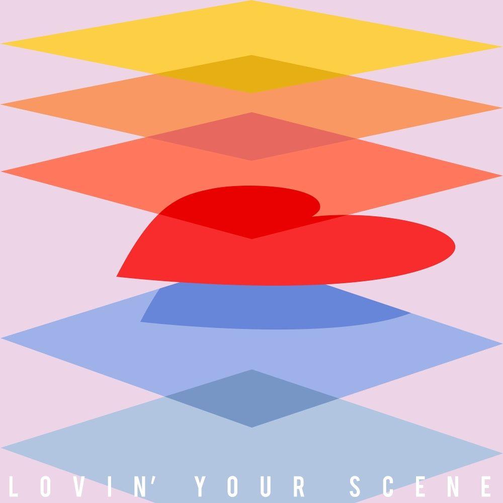 divin' – Lovin' your scene – Single
