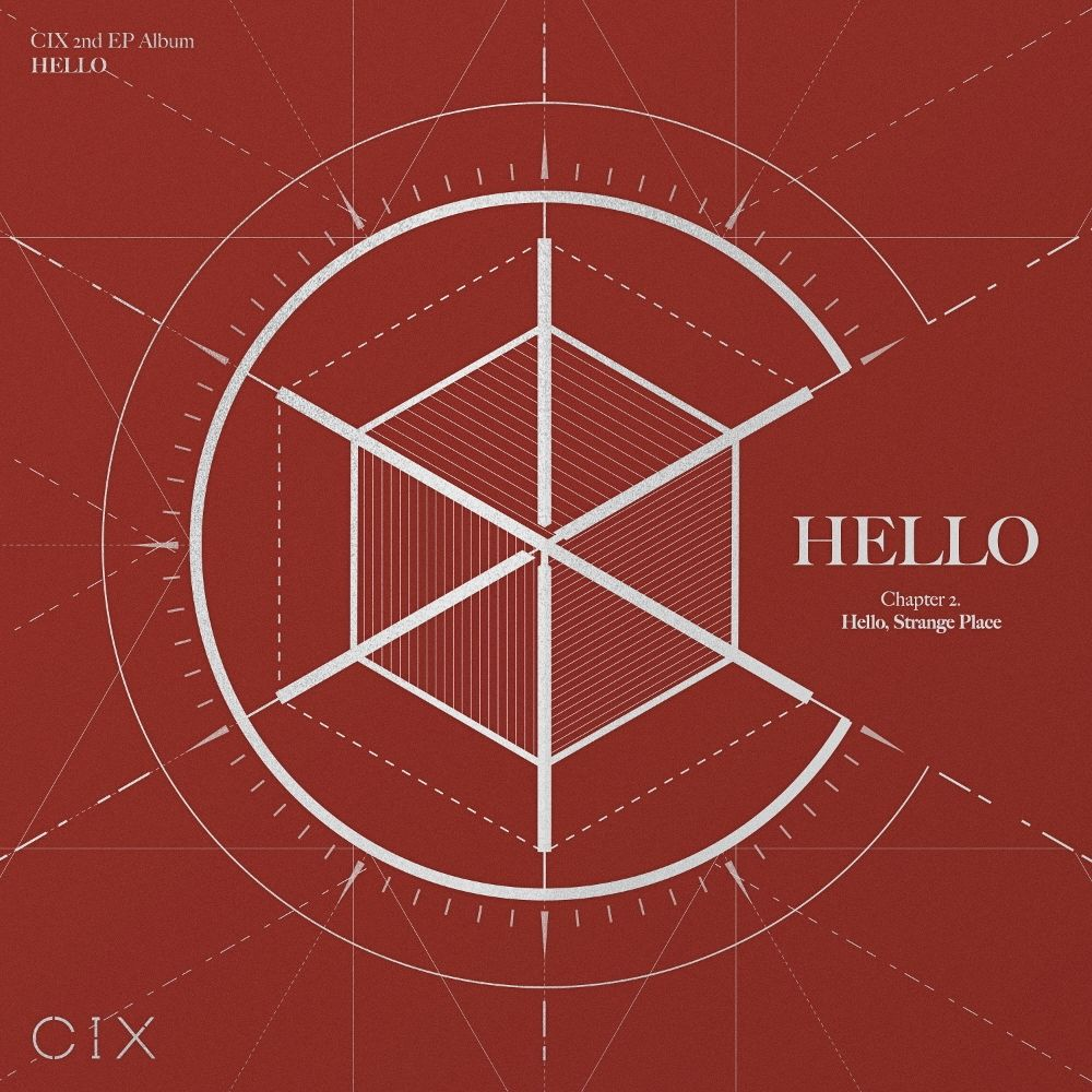CIX – CIX 2nd EP Album 'HELLO' Chapter 2. Hello, Strange Place